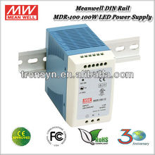 <span class=keywords><strong>Salida</strong></span> única Industrial 100 W 24 V Meanwell MDR-100-24 <span class=keywords><strong>de</strong></span> alimentación carril DIN