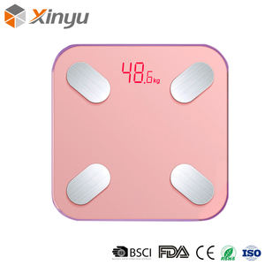 High Quality Portable Multi Function Metal Digital Body Weighing Bathroom Scale