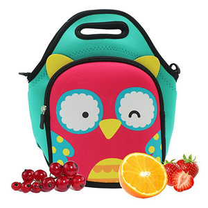 China supplier Insulated Multi-Purpose Kids Neoprene Lunch Bag for Kids with strap
