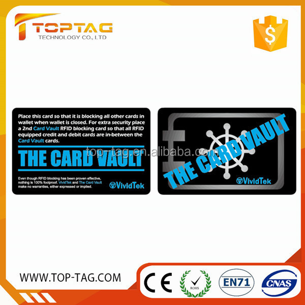 Credit card size RFID blocking card sleeves for payment security