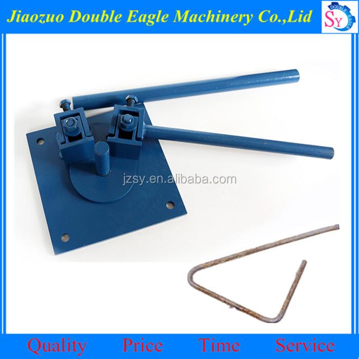 manual flat bar bending machine