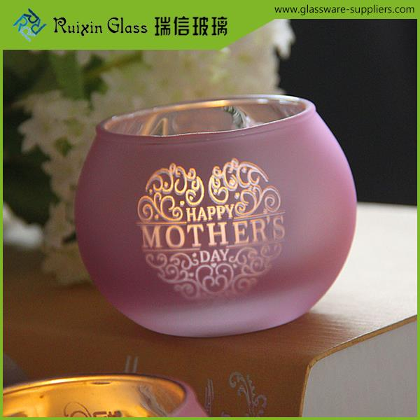 Promotional crystal cut glass candle holder,colored candle jars glass suppliers