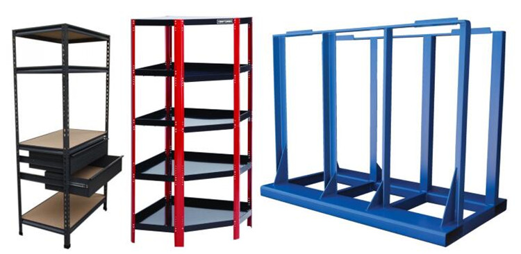 China  customized Popular used industrial metal home goods shelf/ goods rack/ cargo storage racking system