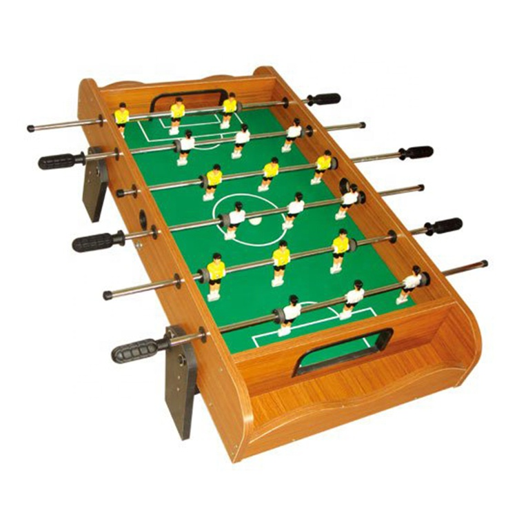 Entertainment Indoor Toy MDF Soccer Game Table Portable Mini Football Table