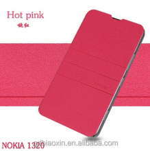 China wholesale for NOKIA Lumia 1320 leather cellphone case, leather flip case cover for NOKIA Lumia 1320