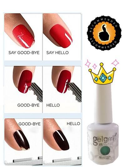 Hot selling 50pcs a lot gel nail polish soak off nail gel polish free sahipping