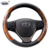 2017 Hot and Best selling genuine leather car steering wheel covers