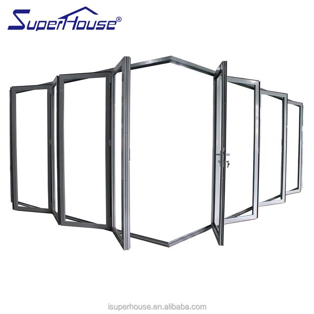 AS2047 Standard Soundproof Bathroom Folding Door
