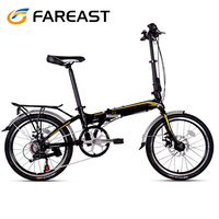 Hangzhou Fareast hot sale 20 inch 7 speed folding bike