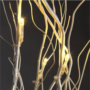 Factory Supply Home Decoration Warm White Natural Willow Twig Lighted Branches
