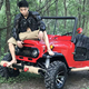 4 Wheeler stroke air cooled mini quad 4x4 atv 150cc