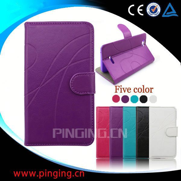 factory price leather back cover case for samsung galaxy ace plus s7500