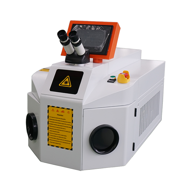 200W YAG Spot Welder Jewelry Laser Welding Soldering Machine for Jewelry Gold eardrop bracelet