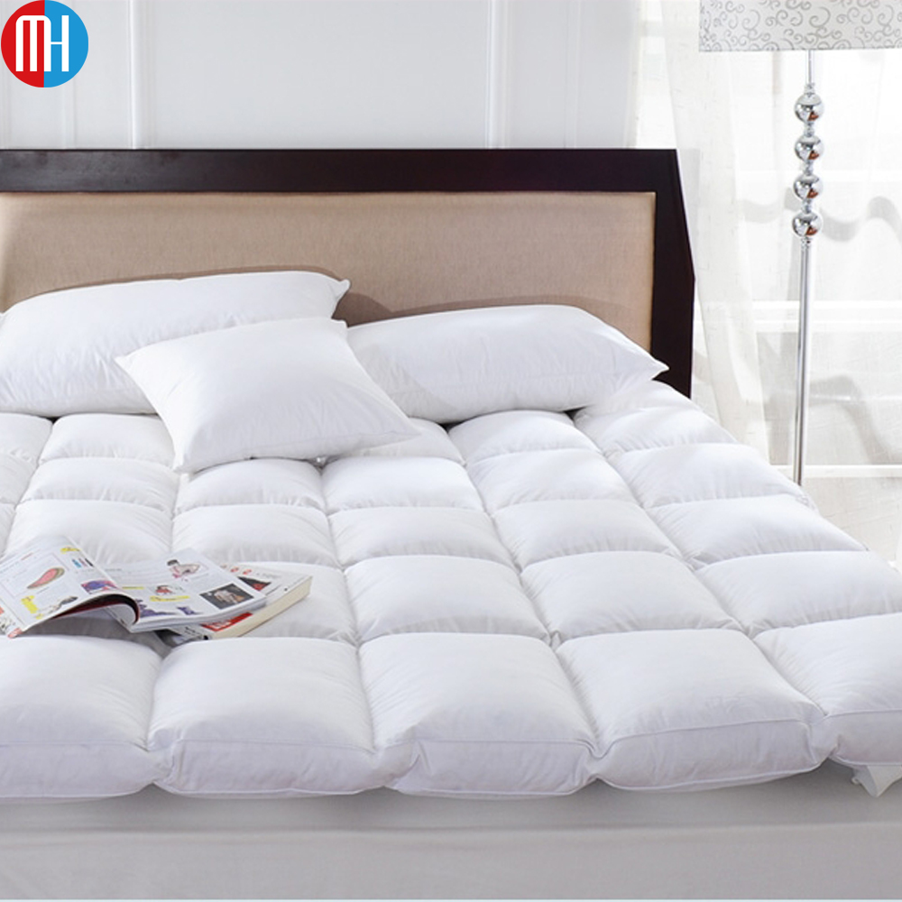 Goose Feather Filled Single Bed Futon Mattress Topper Price Product On Alibaba Com