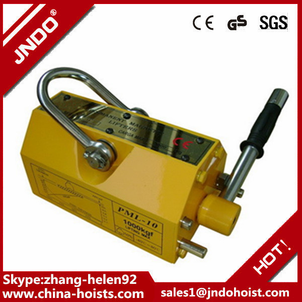 cheap industrial light manual permanent lifting magnet 1ton