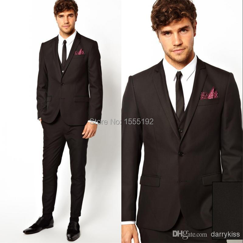 Grey And White Prom Suit