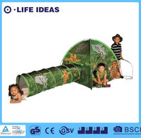 Kids Play Tents Command HQ Camo dome Tent and Tunnel Combo play set