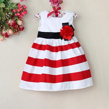 robe bebe rouge et blanche