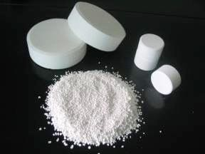 Water Treatment Chemicals Swimming Pool Chlorine Tablets Granular Powder Trichloroisocyanuric