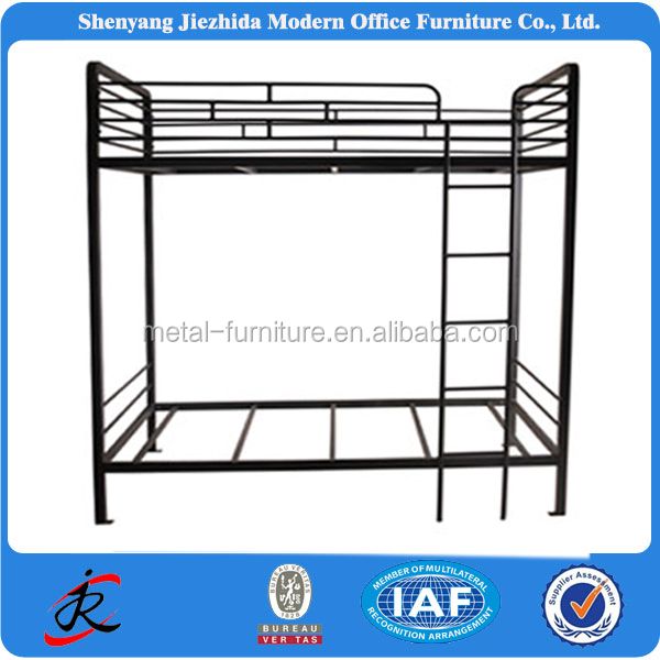 all iron bunk bed room furniture bed with locker