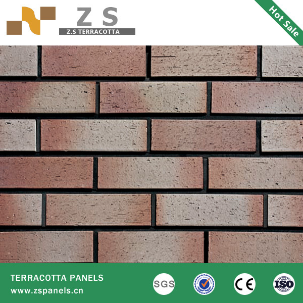Outdoor Wall Cladding Clay Clinker Brick Tile Red Clay Bricks