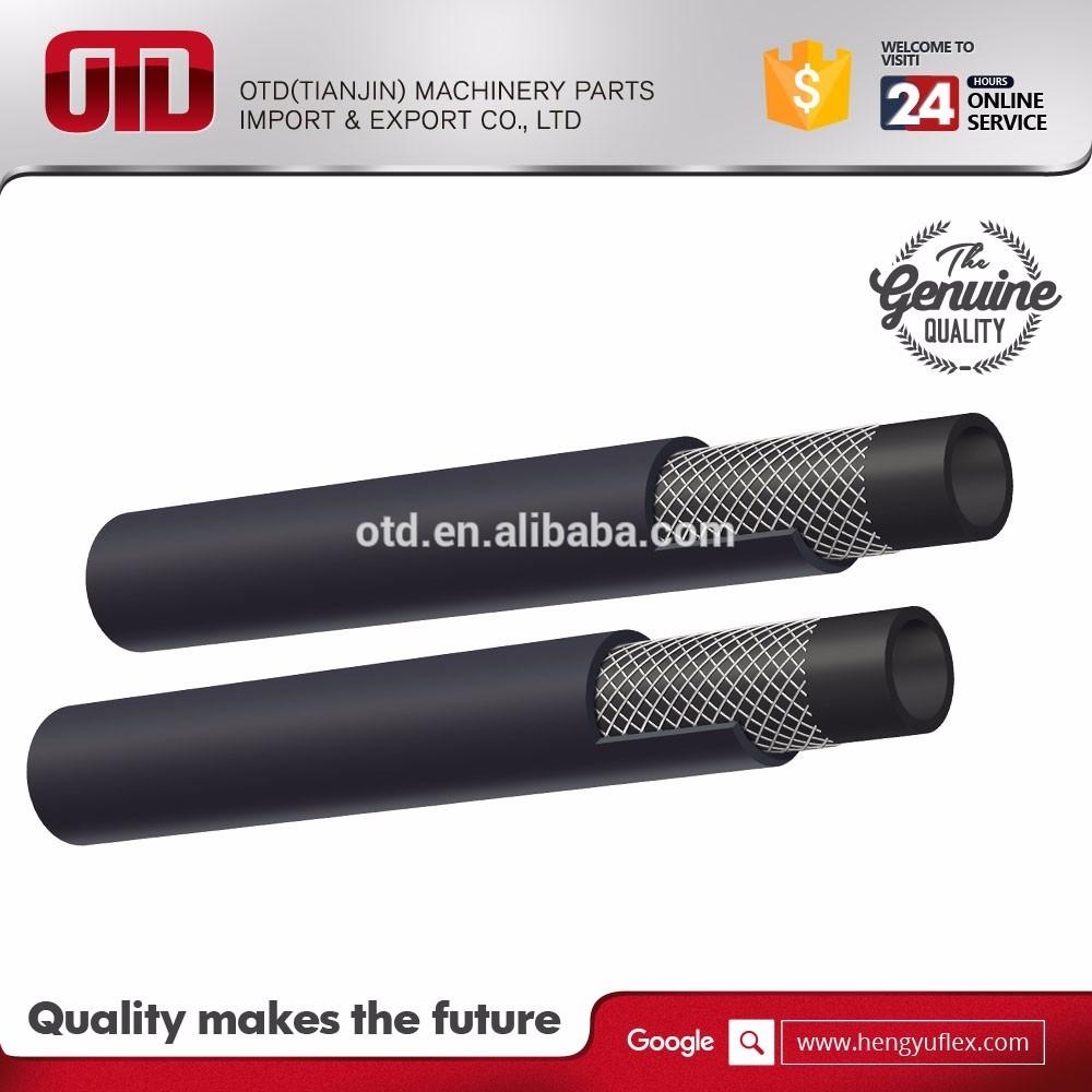 Din En 587 2sc Steel Wire Braided Hydraulic Rubber Hose