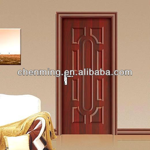 fashion interior front wooden door design