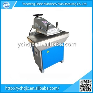 swing arm hydraulic shoe sole/rubber sheet cutting machine