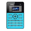 online shopping AEKU Qmart Q1 Card Mobile Phone Blue