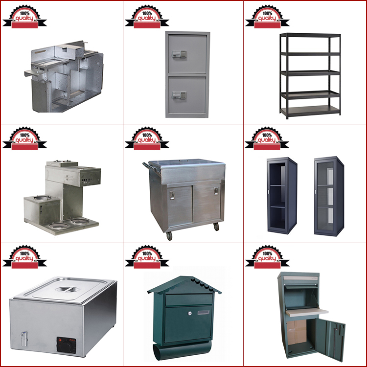 Precision Structure Aluminum Galvanized Stainless Steel Sheet Metal Stamping Welding Parts Working Fabrication