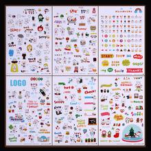 Details about  Kawaii DIY Planner Diary Deco Stickers Transparent Scrapbooking Calendar Sticker