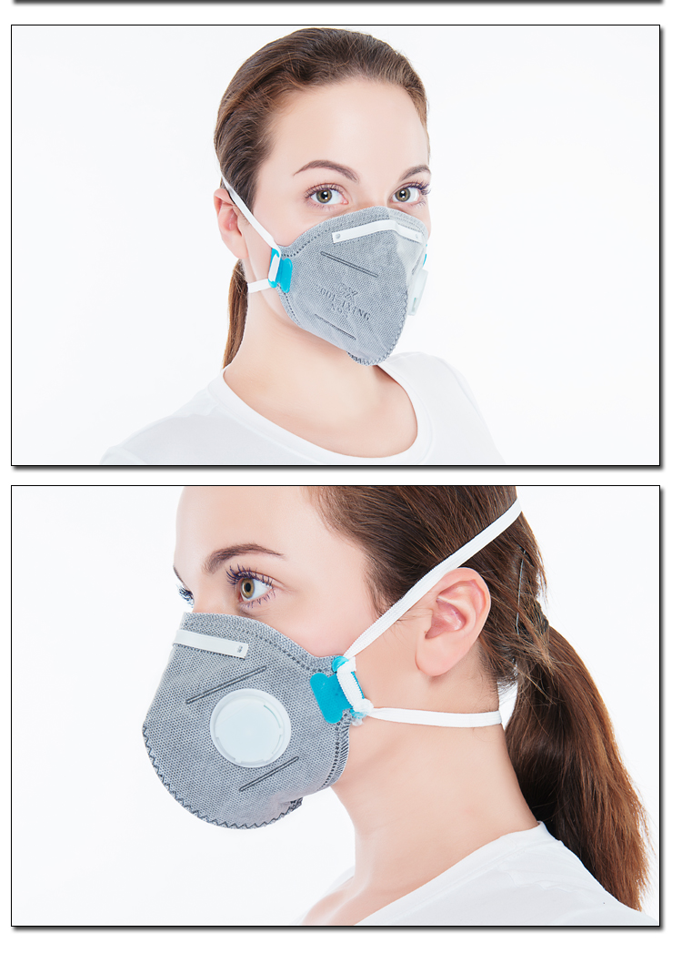 Health Activated Carbon  respirator N95  face Industrial Working Dust Mask
