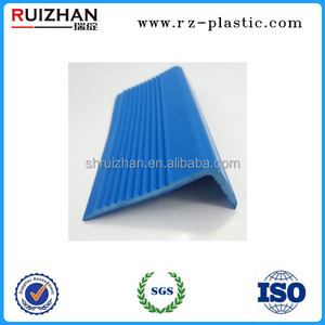 Soft TPR L shape non skid plastic rubber step nosing