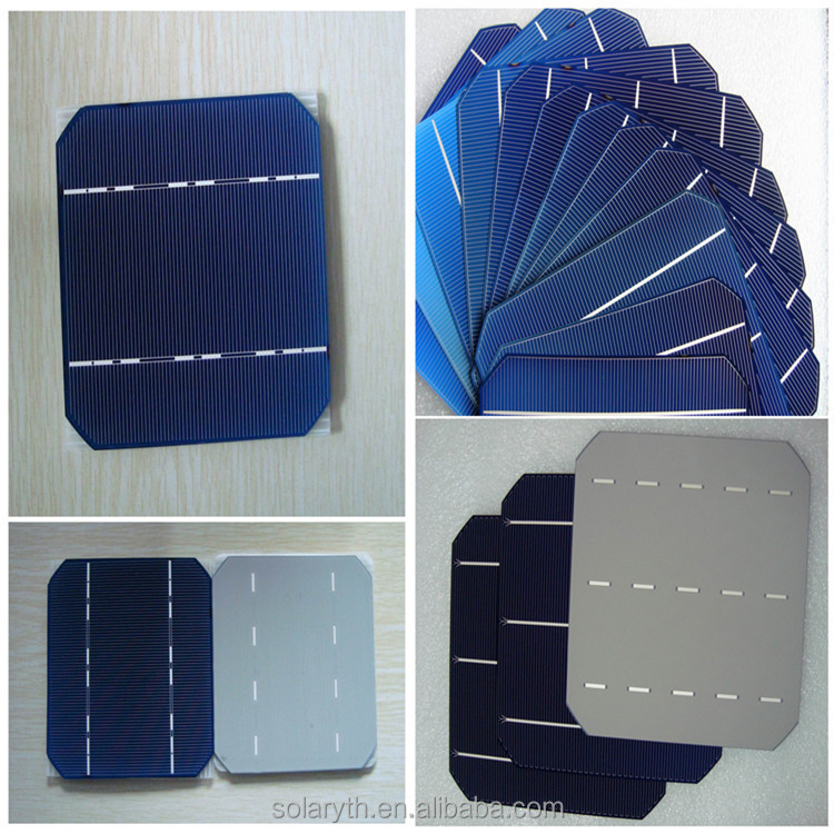 2015 Newest high efficiency 156mmx156mm 6inch,2BB/3BB polycrystalline/multi solar cells,mono solar cell,made in Taiwan/Germany