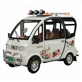 Electric Tuk With 4 Seat Hybrid Car For Manufacturer In China