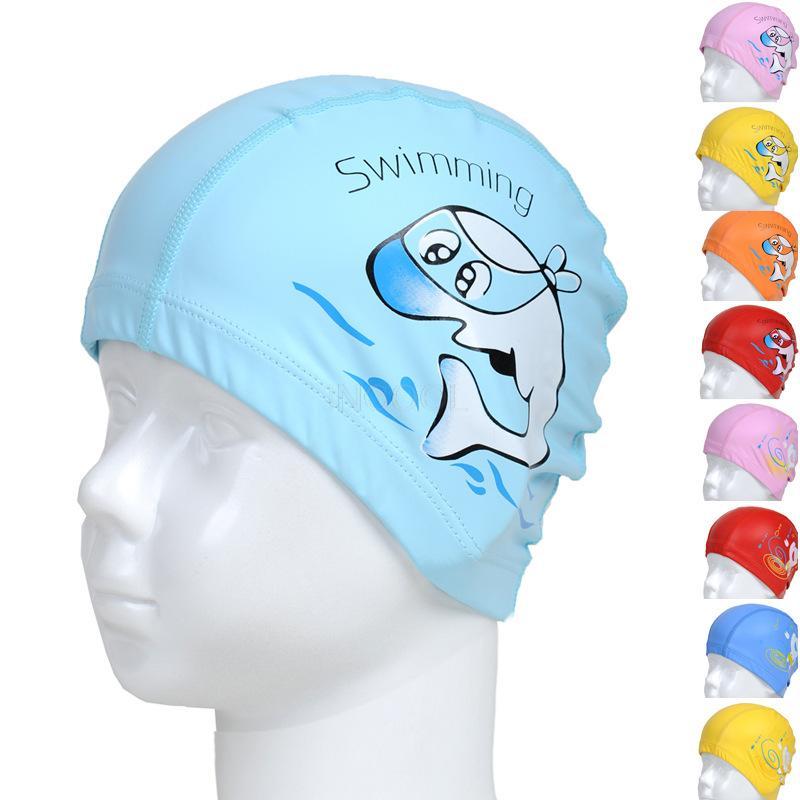 SEADEAR Fashion Printing Waterproof Silicone Comfortable Swimming Cap Bathing cap Long Hair Swim Cap for Adult Woman and Men