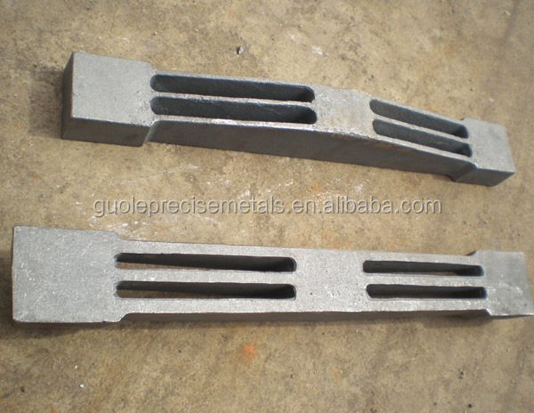 Investment Casting Stainless Steel Casting/GREY IRON 300 Boiler_Grate_Bars 18KG