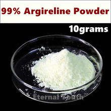 10grams Top Quality Cosmetic Raw Material  99%  Argireline powder Ingredient Acetyl Hexapeptide-8 Anti Aging Ageless Skin Care