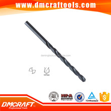 DIN340 HSS Straight shank long series roll-forged drill