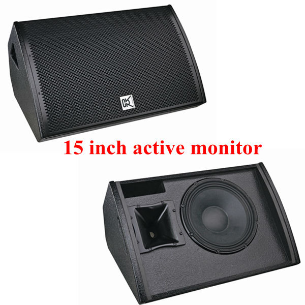 "CVR single 15"" full range monitor speaker/ stage monitor/ professional monitor"