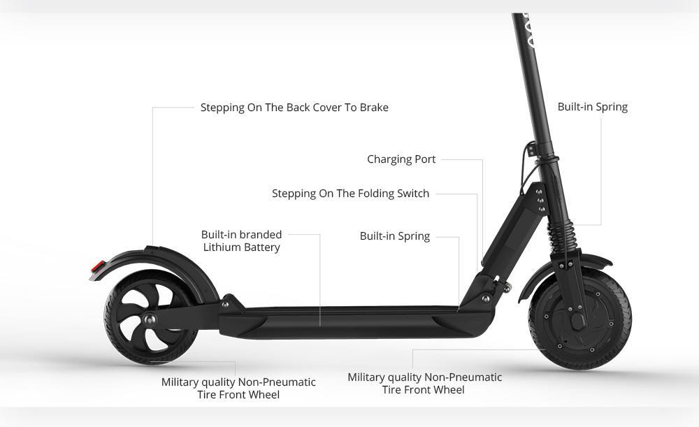 [poland stock]KUGOO S1, Electric Scooter 30KM 30KM/H LCD Display e Scooter PK M365 Electric scooter