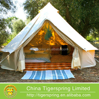 high quality canvas bell tent luxury safari tent & high quality canvas bell tent luxury safari tent View canvas bell ...