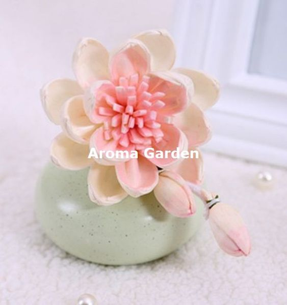 Handmade Sola Wood Flower With Low Price