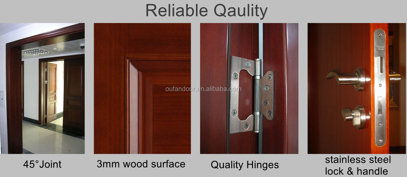 latest design sliding wooden door interior door room solid oak door