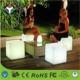 30cm IP68 Waterproof Outdoor Rechargeable Mini LED Chair Cube Seat Light