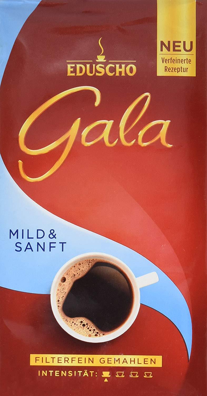 Eduscho Mild and Gentle Ground Coffee, 17.6oz