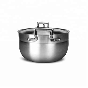 Cookware sets kitchen aluminum indian cooking pots with induction capsule bottom