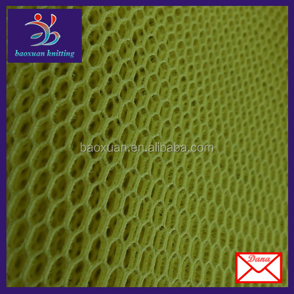 100 Polyester Tricot Spacer Mesh Fabric