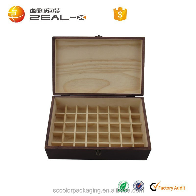 2015 high quality China Factory Logo and size customized wooden olive oil box