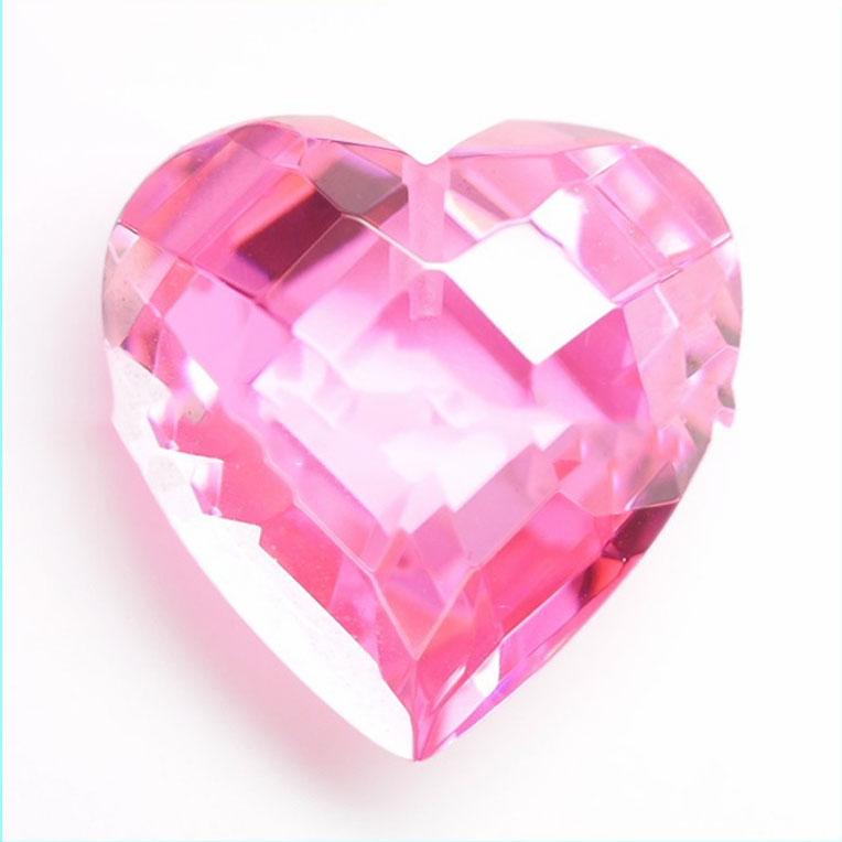 Corazón Corte Cubic Zirconia Color /& Talla Elección 6A Calidad CZ